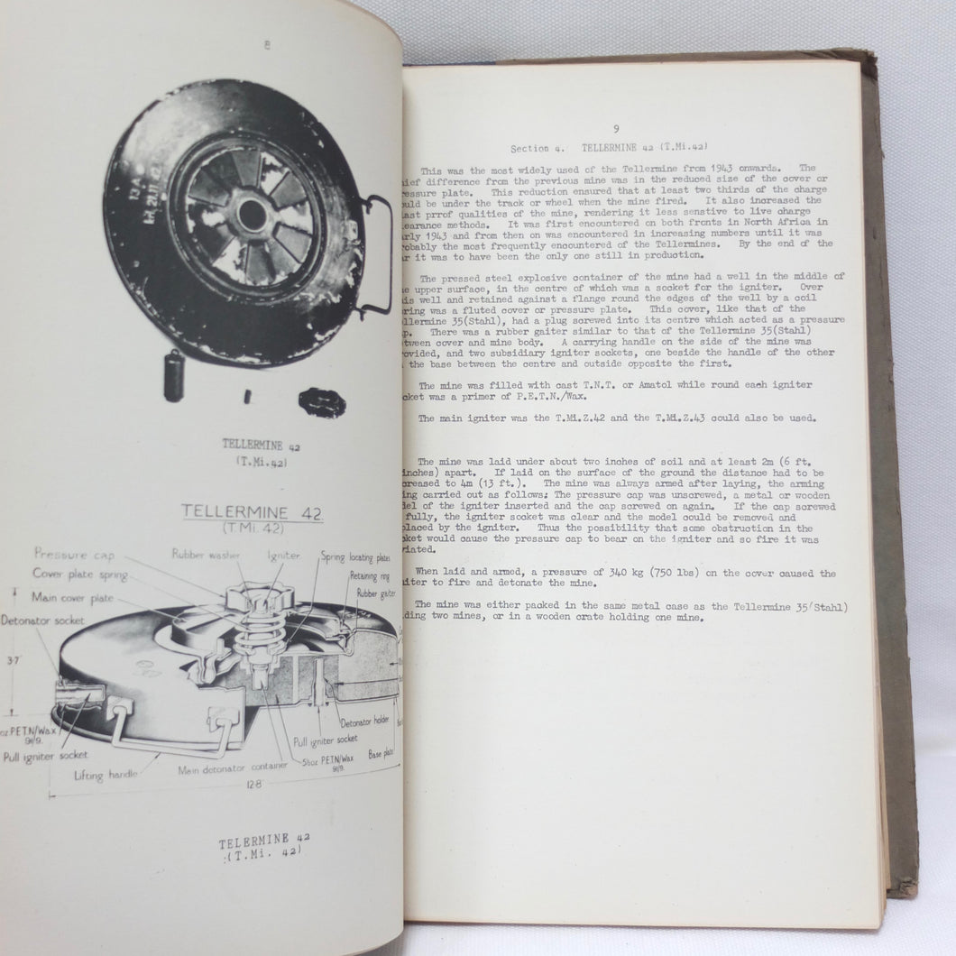 WW2 War Office Manual   Illustrated Record of German Army Equipment