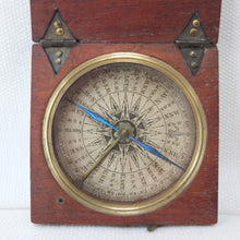 Georgian Wooden Pocket Compass c.1820 | Compass Library
