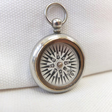Georgian Nickel Silver Pocket Compass c.1830