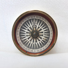 Georgian Brass Pocket Compass c.1820 | Compass Library
