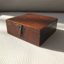Georgian Wooden Cased English Pocket Compass