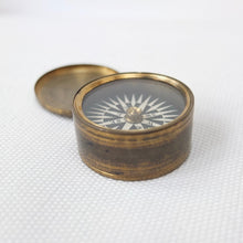 Georgian Brass Box pocket compass c.1830