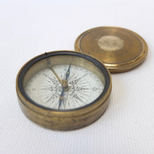 Georgian Brass Pocket Compass c.1830