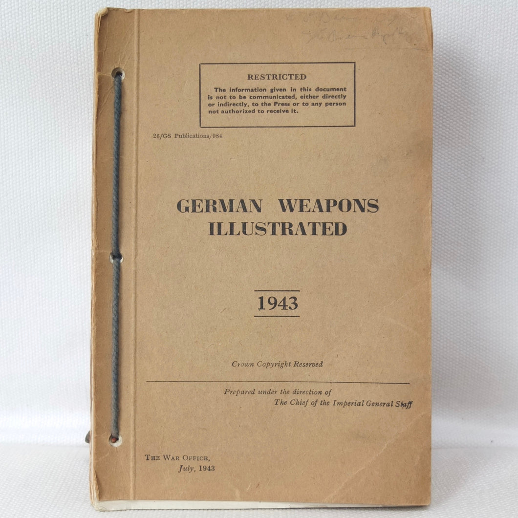 German Weapons Illustrated (1943) | War Office Manual