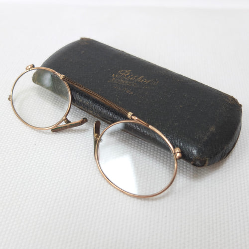 Antique 1917 Pince-Nez Spectacles | Compass Library