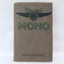 WW1 RFC Gnome Mono Engine manual (1916)