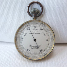 Gregory & Co. Pocket Altimeter barometer | Compass Library