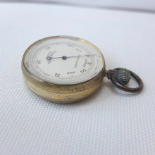 W. Gregory & Co. Pocket Altimeter Barometer c.1900