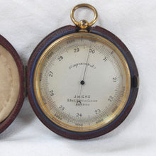 J. Hicks, Hatton Garden | Pocket Altimeter Barometer c.1880