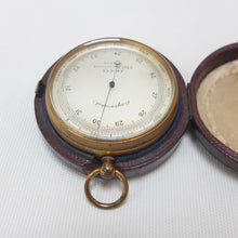 J. Hicks Pocket Altimeter Barometer c.1880