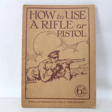 How to Use a Rifle (1914)