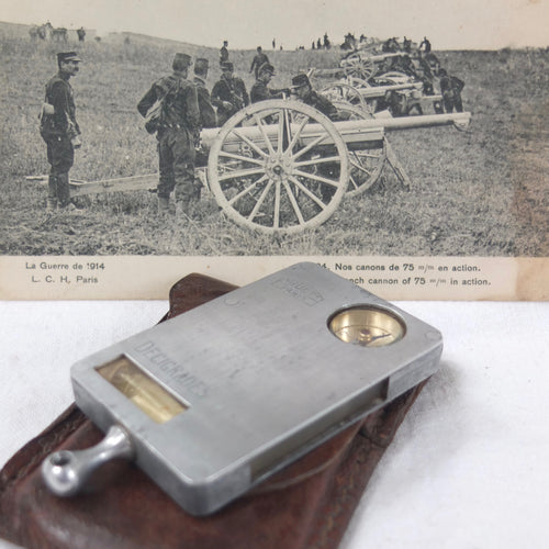 WW1 Huet French Military Rangefinder Compass | Sitometre