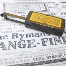 Hymans Pocket Range Finder (1915)