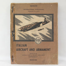 Italian Aircraft and Armament (1943) | US Air Staff Intelligence