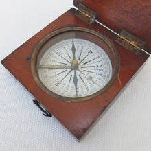 James Parkes of Birmingham, Wooden Box Compass