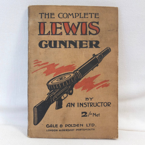 WW1 Lewis Gun Manual (1918) | Compass Library