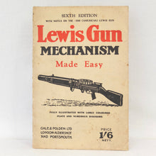 WW2 Lewis Gun Manual | Lewis Gun mechanism (1941)