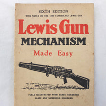 WW2 Lewis Machine Gun Manual