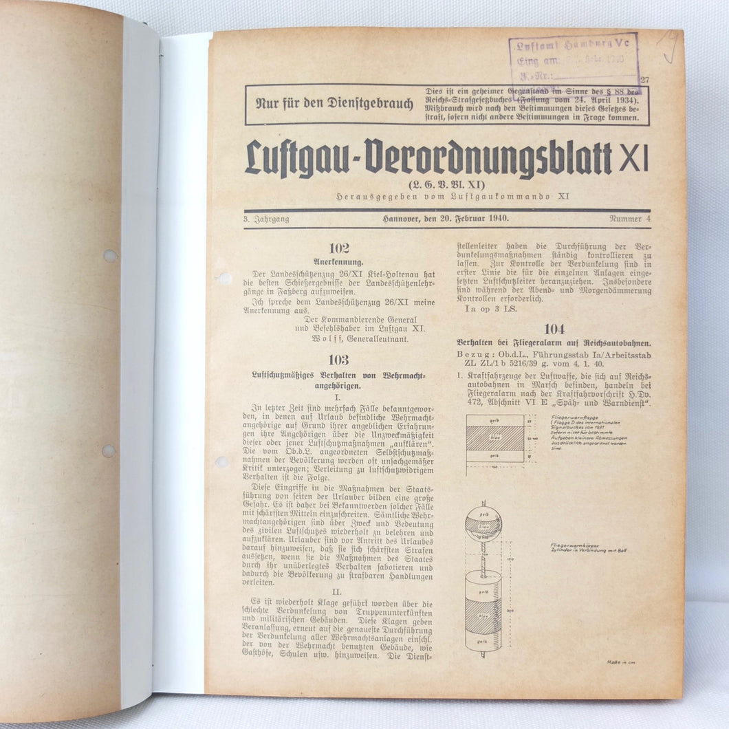 Luftgau XI | Luftwaffe Newspaper 1940-45