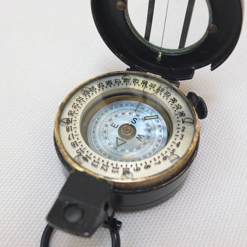 Francis Barker M-71 Prismatic Military Compass