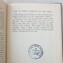 The Magnetic Compass on Land (1915) Creagh Osborne