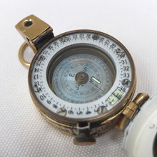 WW2 F. Barker Mk III Military Compass (1945)