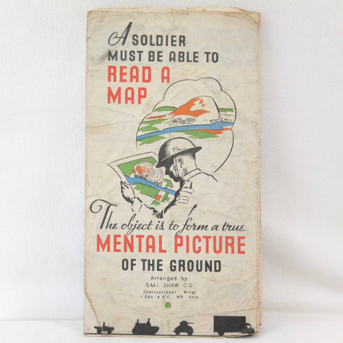 WW2 Canadian Army Map Reading Guide c.1943 | Compass Library