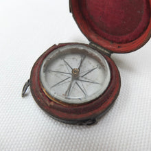 Georgian Pocket Compass & Case c.1790