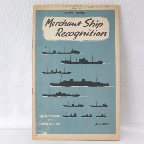 WW2 Admiralty | Merchant Ship Recognition (1943)