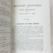 Military Sketching and Map Reading 1917