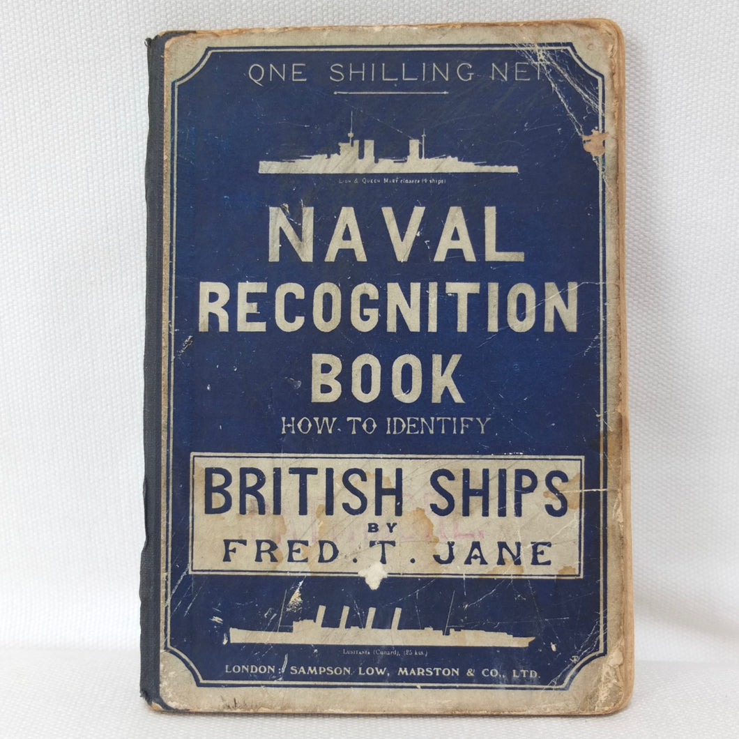 WW1 British Naval Recognition Manual (1915)
