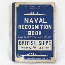 WW1 Royal Navy Warship Recognition Manual (1914)