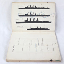WW1 Royal Navy Recognition Manual (1914) | Lusitania