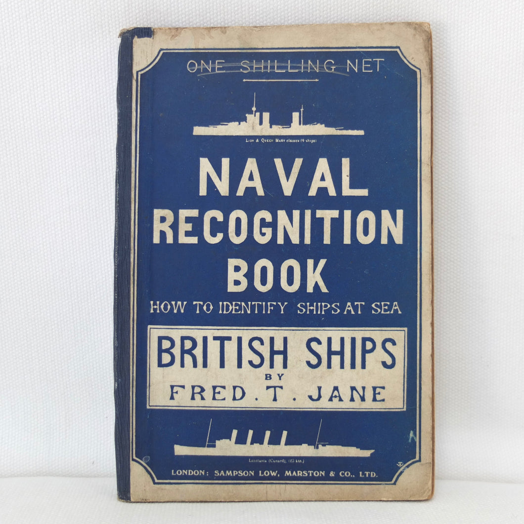 WW1 Naval Recognition Manual (1914) | Fred T. Jane