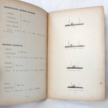 WW1 Naval Recognition Manual (1914) | German Ships