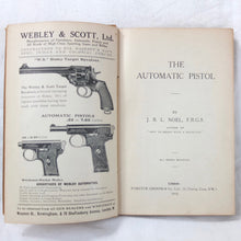 WW1 Automatic Pistol Manual | J. B. L. Noel