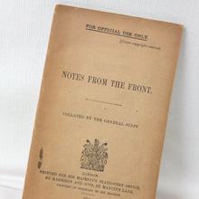 Notes From the Front (1914)