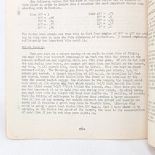 RAF Notes on Gunnery (1942)