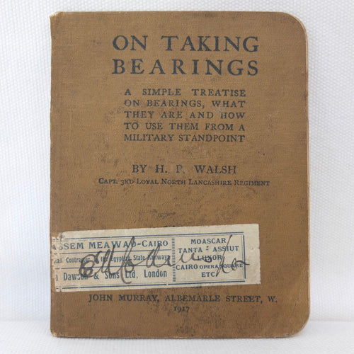 WW1 Compass Manual | On Taking Bearings (1917)