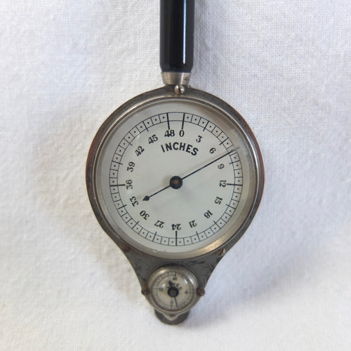Antique Henri Chatelain Map Measurer | Compass Library