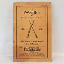 Parker Hale Service Catalogue 1937