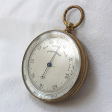 Antique Victorian Altimeter Barometer | Compass Library
