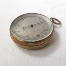 Victorian Pocket Altimeter Barometer c.1880 | Compass Library