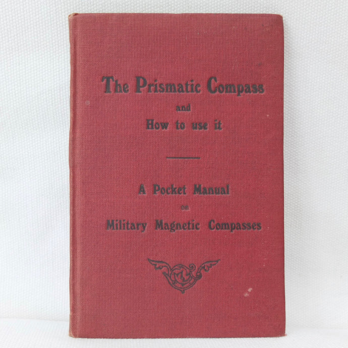 WW1 Prismatic Compass Manual 1917| Compass Library