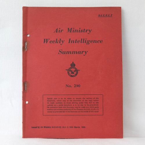 Air Ministry Secret Weekly Intelligence March 1945