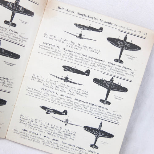 WW2 Raid Spotter's Note Book | Compass Library