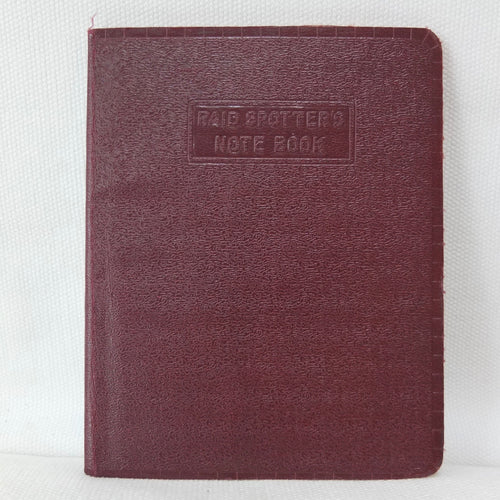 The Raid Spotter's Note Book (1941)