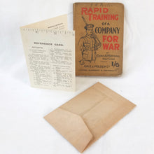 Rapid Training of a Company for War (1914)