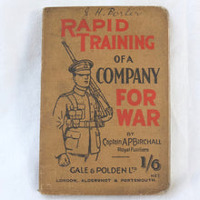 WW1 Officer's Rapid Training for War (1914)
