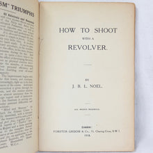 How to Shoot With a Revolver (1918)